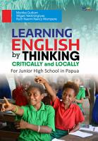 Learning English by Thinking Critically and Locally for junior high school in Papua PDF