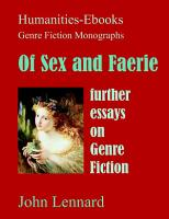 Of Sex and Faerie  further essays on Genre Fiction PDF