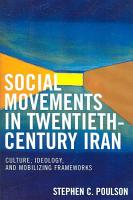 Social Movements in Twentieth century Iran PDF