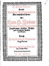 S.-Johanns-Predigen