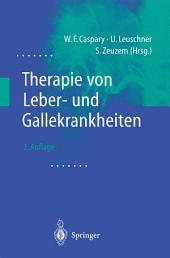 Therapie von Leber- und Gallekrankheiten: Ausgabe 2