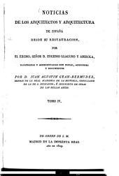 Noticias de los arquitectos y architectura de España desde su Restauracion: Volumen 4