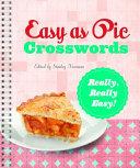 Easy as Pie Crosswords  Really  Really Easy  PDF