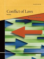 Black Letter Outline on Conflict of Laws, 7th: Edition 7