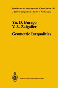 Geometric Inequalities PDF