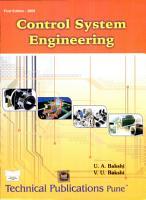 Control System Engineering PDF