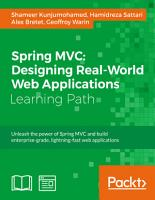 Spring MVC  Designing Real World Web Applications PDF