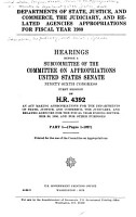 Departments of State  Justice  and Commerce  the Judiciary and Related Agencies Appropriations for Fiscal Year 1980 PDF