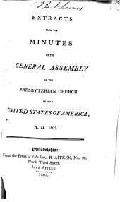 Minutes - United Presbyterian Church in the U.S.A.