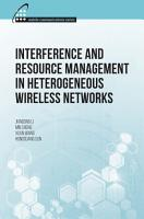 Interference and Resource Management in Heterogeneous Wireless Networks PDF