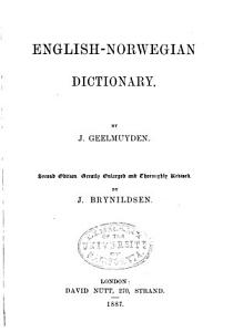 English Norwegian Dictionary PDF