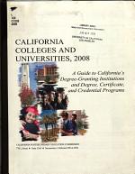 California Colleges and Universities PDF