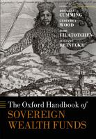 The Oxford Handbook of Sovereign Wealth Funds PDF