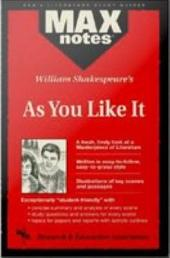 As You Like It (MAXNotes Literature Guides)
