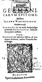 Epitome rerum germanicarum