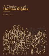 A Dictionary of Human Rights: Edition 2
