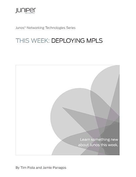 This Week Deploying Mbgp Multicast Vpns