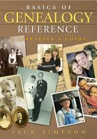Basics of Genealogy Reference  A Librarian s Guide PDF