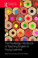 The Routledge Handbook of Teaching English to Young Learners PDF