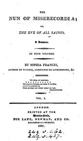 The nun of Miserecordia; or, The eve of All saints