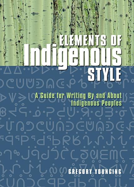 Download Elements of Indigenous Style Book