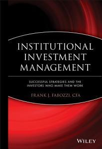 Institutional Investment Management PDF