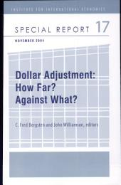 Dollar Adjustment: How Far? Against What?