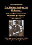 Als Siebenj  hriger im Holocaust PDF