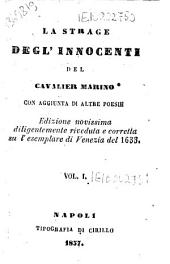La strage degl'innocenti: Volume 1