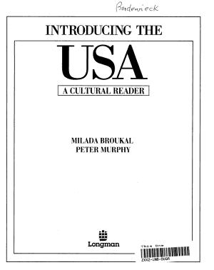 Introducing the USA PDF