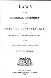 Laws of the Commonwealth of Pennsylvania