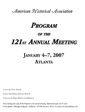 Program of the     Annual Meeting