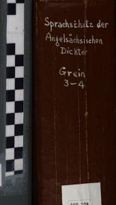 Sprachschatz der angelsächsischen Dichter: Bd. A-G