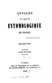 Annales de la Société entomologique de France: Volume21