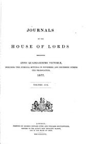 Journals of the House of Lords: Volume 109