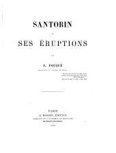 Santorin et ses éruptions
