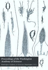 Proceedings of the Washington Academy of Sciences