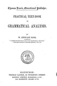 Practical text book of grammatical analysis PDF