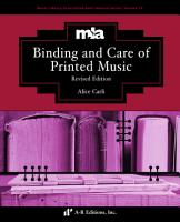 Binding and Care of Music  Revised Edition PDF