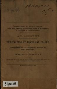 An account of the various publications relating to the travels of Lewis and Clarke  with a commentary on the zoological results of their expedition PDF