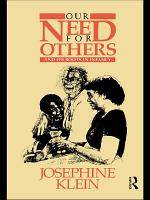Our Needs for Others and Its Roots in Infancy PDF