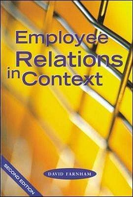 Employee Relations in Context PDF