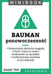 Bauman [ponowoczesność]. Minibook