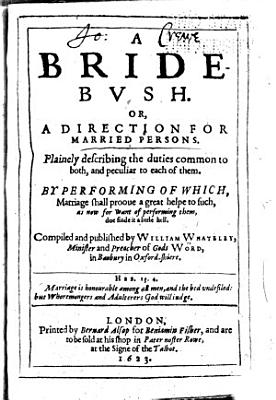 A Bride bvsh  Or  A Direction for Married Persons