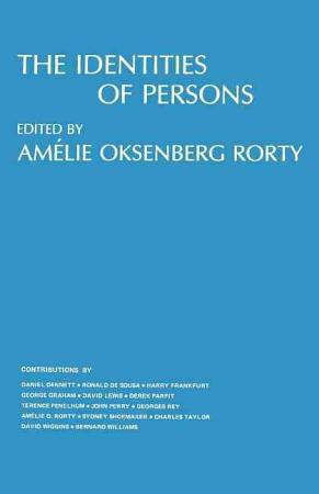 The Identities of Persons PDF