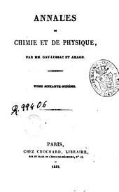 Annales de chimie et de physique: Volume66