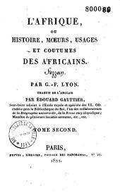 L'Afrique ou histoire, moeurs, usages et coutumes des Africains, Fezzan