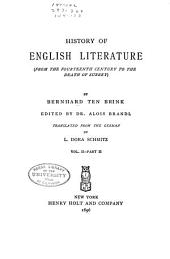 Wyclif, Chaucer, earliest drama, renaissance, tr. by W. C. Robinson