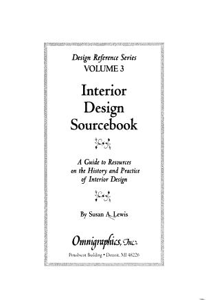 Interior Design Sourcebook PDF