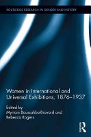 Women in International and Universal Exhibitions  1876   1937 PDF